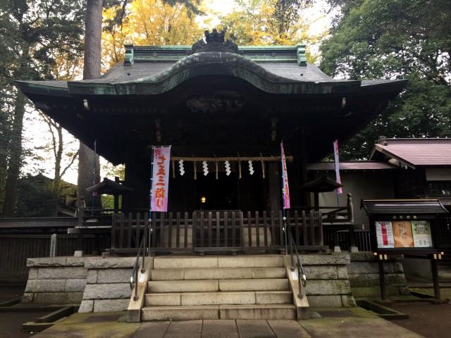 和泉熊野神社拝殿2