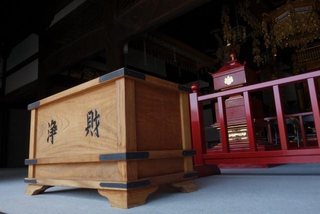神社やお寺への寄付